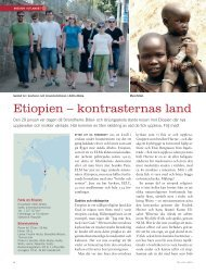 Etiopien – kontrasternas land - Till Liv