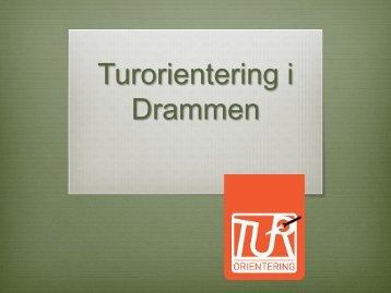 Turorientering i Drammen - Drammen kommune