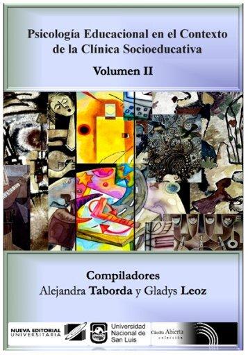 VOLUMEN 2 Psicología Educacional en el Contexto de la Clínica ...
