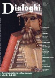 Dialoghi ANNO V - Dedalo