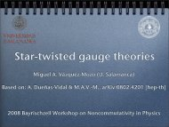 Twisted-gauge transformations - Particle Physics Group