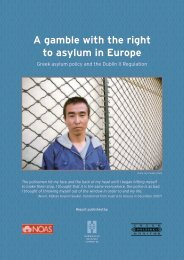 A gamble with the right to asylum in Europe