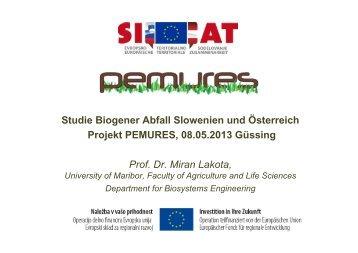 Biogene Abfälle (Miran Lakota) - Pemures