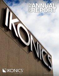 2012 AnnuAl RepoRt - Ikonics Corporation