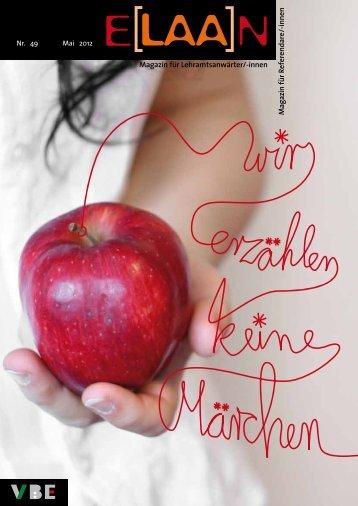 Mag azin fü r R eferen d are /-in n en Magazin für Lehramtsanwärter ...