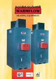 Warmflow air heaters
