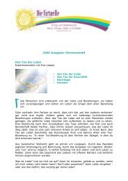 Partnerschaft Das Tao der Liebe - Die Goldene Zeit-Schrift