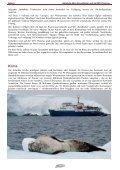 Antarktis Aktiv-Kreuzfahrten mit der M/V Plancius  - Hauser ... - Page 5