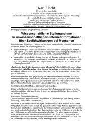Karl Hecht - Heck Bio-Pharma GmbH