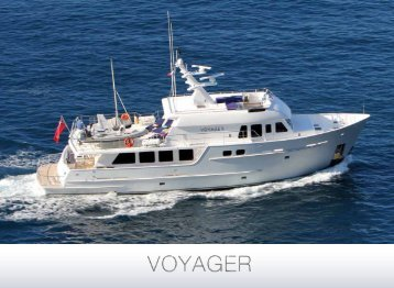 M/Y Voyager - Paradise Yacht Charters