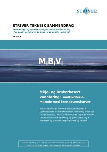 Miljø- og Brukerbasert Vannføring (MiBiVi) - NIVA