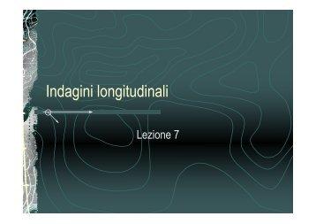 Indagini longitudinali - Lettere e Filosofia