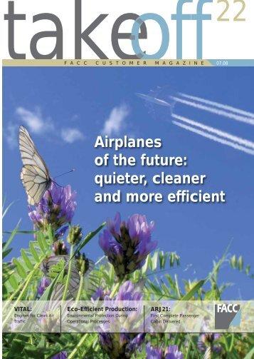 "Magazin ""take off"" - Issue 22 - FACC"
