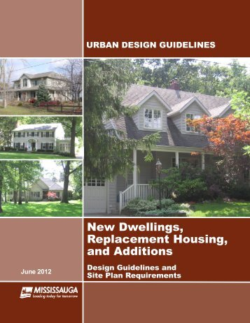 New Dwellings, Replacement Housing, and Additions - City of ...