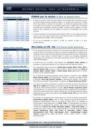 Mercados en EE. UU.: los futuros suben ... - Sala de Inversión