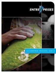 CLIMBING HOLDS 2012 - Entre Prises Climbing Walls
