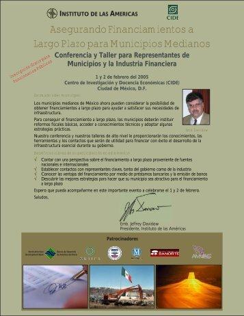 Asegurando Financiamientos a Largo Plazo para Municipios ...