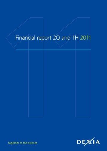 Financial Report 2Q and 1H 2011 - Dexia.com
