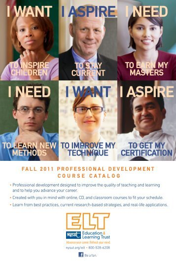 Professional Development Course Catalog - Fall 2011 - Lindenhurst ...