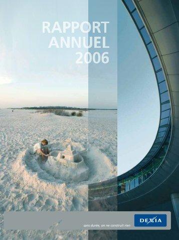 Rapport annuel 2006 - Dexia.com