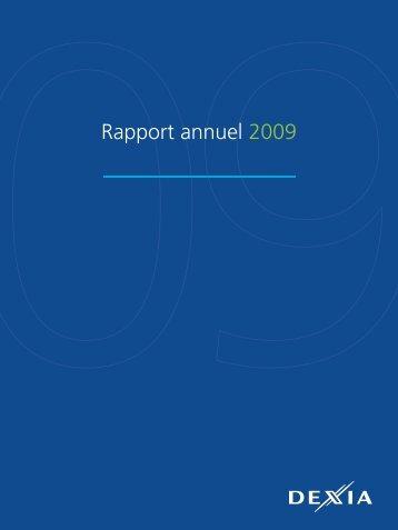 Rapport annuel 2009 - Dexia.com