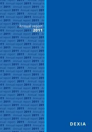 Annual report 2011 - Dexia.com