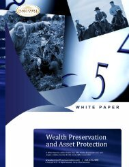 Wealth Preservation and Asset Protection - the Family Office ...