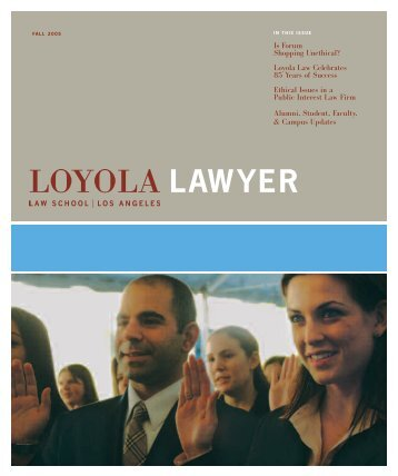 LAWYER - Loyola Law School