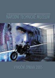 Výroční zpráva 2005 - Národní technické muzeum