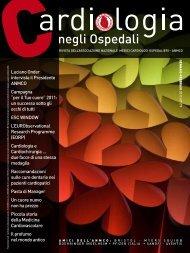 Cardiologia negli Ospedali n° 179 Gennaio/Febbraio 2011 - Anmco
