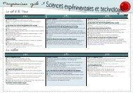 progression cycle 3 -sciences - classeurdecole