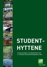 Student- hyttene - SiO