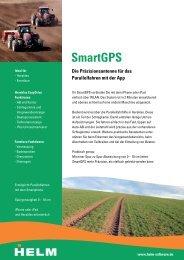 Flyer SmartGPS - HELM-Software
