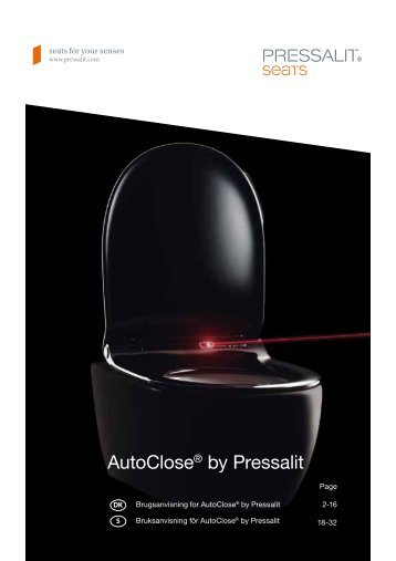AutoClose® by Pressalit - Pressalit A/S