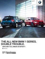 bmw serie 1 (5 puertas). Manual de 6 velocidades . 17.2 km/lt ...