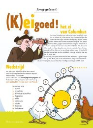 Wedstrijd het ei van Columbus - Landelijke Gilden