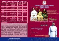 worship schedule & lectionary for may-2012 - Ahmadi Marthoma ...