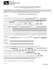In order to help you obtain H-1B status, please complete this form ...