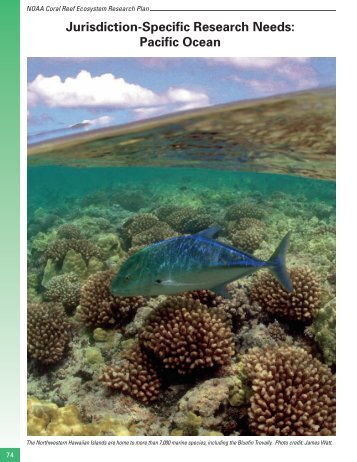 Jurisdiction-Specific Research Needs: Pacific Ocean - NOAA Coral ...