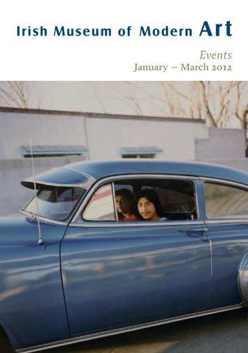 January to March 2012 - Irish Museum of Modern Art
