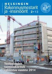 Yhdistyksen jäsenlehti 2/13, PDF tiedosto - Helsingin ...