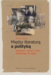 a polityką - Wydawnictwo Uniwersytetu Jagiellońskiego