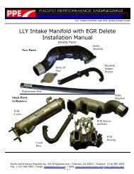 LLY Intake Manifold with EGR Delete - Xtreme Diesel Performance