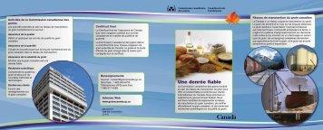 Grain canadien - Commission canadienne des grains