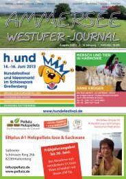 ENplus A1 Holzpellets lose & Sackware - Ammersee Westufer-Journal