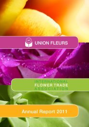 Annual Report 2011 - International Flower Trade Association