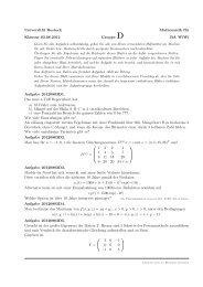 Universität Rostock Mathematik für Klausur 03.08.2012 Gruppe D ...