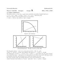 Lösungen Gruppe A - pdf - Universität Rostock