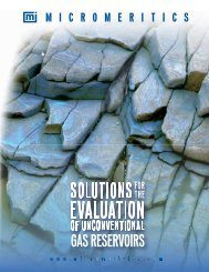 Link to Solutions for the Evaluation of Unconventional Gas Reservoirs
