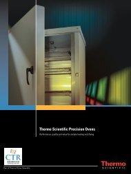 Thermo Scientific Precision Ovens - CTR Scientific
